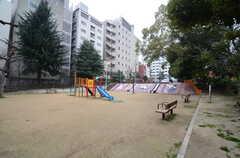 シェアハウス近くの公園。(2015-02-17,共用部,ENVIRONMENT,1F)