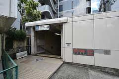 大阪市営地下鉄谷町線・野江内代駅の様子。(2016-08-23,共用部,ENVIRONMENT,1F)