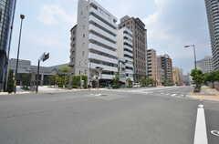 各線・大阪上本町駅からシェアハウスへ向かう道の様子。(2014-06-30,共用部,ENVIRONMENT,1F)