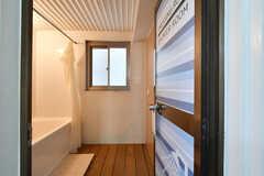 脱衣室の様子。(2020-06-27,共用部,BATH,2F)