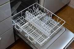 食器洗浄機が使えます。(2013-06-01,共用部,KITCHEN,3F)
