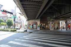 各線・福島駅の様子。(2015-08-11,共用部,GARAGE,1F)