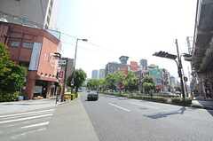 各線・福島駅前の様子。(2015-08-11,共用部,GARAGE,1F)