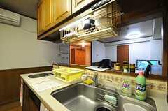 キッチンにはシンクが2つあります。(2012-11-26,共用部,KITCHEN,4F)
