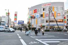 大阪市営地下鉄長堀鶴見緑地線・今福鶴見駅前の様子。(2018-02-13,共用部,ENVIRONMENT,1F)
