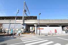 南海本線・湊駅の様子。(2011-12-20,共用部,ENVIRONMENT,1F)