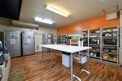 キッチンの様子3。(2017-06-07,共用部,KITCHEN,2F)