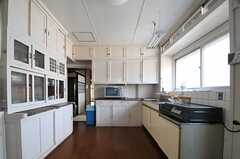 キッチンの様子2。(2013-08-22,共用部,KITCHEN,1F)