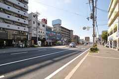 南海本線・石津川駅からシェアハウスへ向かう道の様子。(2013-08-22,共用部,ENVIRONMENT,1F)
