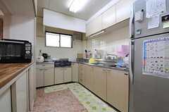 キッチンの様子。(2012-05-08,共用部,KITCHEN,1F)