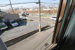 窓からの景色。(202号室)(2014-01-28,専有部,ROOM,2F)