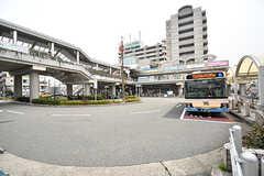 京都線・千里丘駅前ロータリーの様子。(2017-03-06,共用部,ENVIRONMENT,1F)