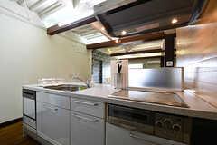 キッチンの様子3。食洗機は使用できません。(2016-11-15,共用部,KITCHEN,2F)