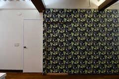 一見壁に見えますが…(205号室)(2016-11-15,専有部,ROOM,2F)