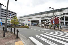 大阪モノレール・南摂津駅の様子。(2016-11-15,共用部,ENVIRONMENT,1F)