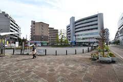 大阪モノレール・南摂津駅ロータリーの様子。(2016-11-15,共用部,ENVIRONMENT,1F)