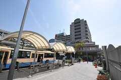 JR東海道本線・千里丘駅前の様子。(2011-04-10,共用部,ENVIRONMENT,1F)
