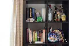 本棚の様子。(2014-01-28,共用部,LIVINGROOM,1F)