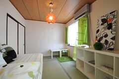 専有部の様子2。モデルルームです。(101号室)(2011-04-10,専有部,ROOM,1F)