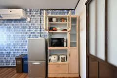 食器棚の様子。(2017-01-18,共用部,OTHER,1F)