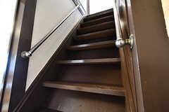 階段の様子。(2017-01-18,共用部,OTHER,1F)