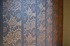 壁紙の様子。(101号室)(2013-07-18,専有部,ROOM,1F)