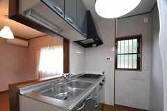 キッチンの様子。(101号室)(2013-08-22,専有部,ROOM,1F)