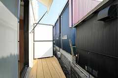デッキの様子。(101号室)(2012-09-13,専有部,ROOM,1F)