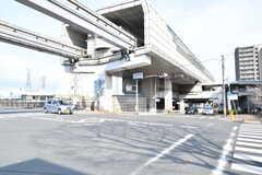 各線・山田駅の様子。(2017-03-07,共用部,ENVIRONMENT,1F)