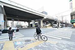 各線・江坂駅前の様子。(2017-04-05,共用部,ENVIRONMENT,1F)