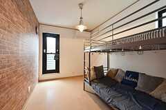 専有部の様子。ベッド下はソファスペースです。(204号室)(2016-05-25,専有部,ROOM,2F)