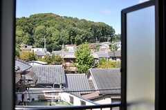 窓からの景色。(303号室)(2013-10-18,専有部,ROOM,3F)
