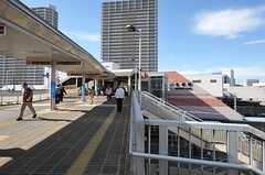 JR高槻駅の様子。(2013-10-18,共用部,ENVIRONMENT,1F)