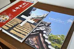 富田林のパンフレット等が置かれています。(2017-02-07,共用部,OTHER,1F)