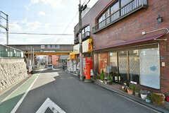 近鉄長野線・川西駅周辺の様子。(2017-02-07,共用部,ENVIRONMENT,1F)