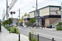 大阪モノレール線・少路駅からシェアハウスに向かう道の様子。(2017-07-20,共用部,ENVIRONMENT,1F)