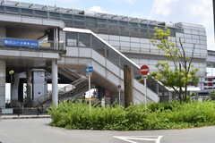 大阪モノレール線・少路駅の様子。(2017-07-20,共用部,ENVIRONMENT,1F)