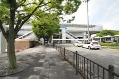 大阪モノレール・柴原駅の様子。(2013-06-24,共用部,ENVIRONMENT,1F)