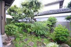 庭の様子。(2015-07-07,共用部,OTHER,1F)