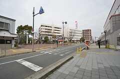 阪急宝塚線・岡町駅前の様子。(2015-03-18,共用部,ENVIRONMENT,1F)