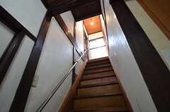 階段の様子2。(2016-02-15,共用部,OTHER,1F)