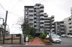マンションの外観。1室がシェアハウスです。(2012-12-19,共用部,OUTLOOK,1F)