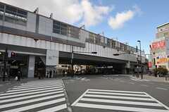 阪急宝塚本線・曽根駅の様子。(2012-12-19,共用部,ENVIRONMENT,1F)