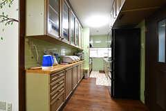 キッチンの様子。(2017-10-12,共用部,KITCHEN,1F)
