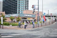 阪急神戸線・神崎川駅前の様子。(2019-10-17,共用部,ENVIRONMENT,1F)