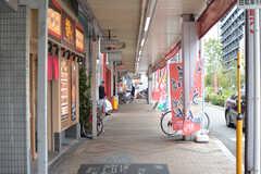 阪急神戸線・神崎川駅前の様子2。(2019-10-17,共用部,ENVIRONMENT,1F)