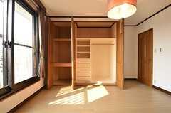 収納の様子。(202号室)(2014-10-16,専有部,ROOM,2F)