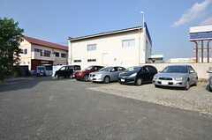 駐車場の様子。(2014-10-16,共用部,GARAGE,1F)