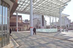 東武東上線・朝霞駅の様子。(2016-03-03,共用部,ENVIRONMENT,1F)