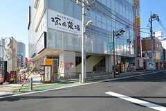 東武東上線・朝霞駅前の様子。(2017-02-09,共用部,ENVIRONMENT,1F)